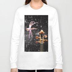 Violin and Ballet Dancer number 1 Long Sleeve T-shirt