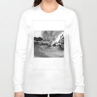 ships Long Sleeve T-shirts featuring Ships by spiderdave7