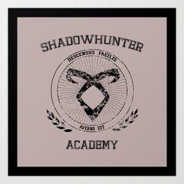 Shadowhunters Academy Art Print