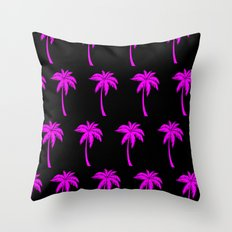 Pink Jungle Throw Pillow