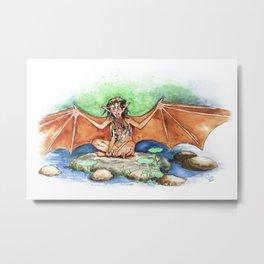 Bat-winged Pixie Metal Print