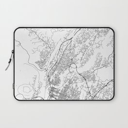 Minimal City Maps - Map Of Chattanooga, Tennessee, United States Laptop Sleeve