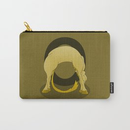 Pony Monogram Letter O Carry-All Pouch