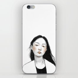 Young Girl iPhone Skin
