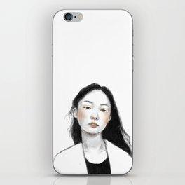Young Girl iPhone Skin