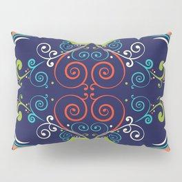 Peacock Nouveau Pillow Sham