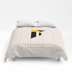 Yellow-Headed Blackbird Comforters