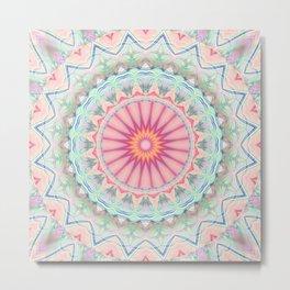Mandala pastel no. 5 Metal Print