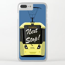 Next Stop! Piccadilly Clear iPhone Case