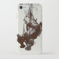 smoke iPhone & iPod Cases featuring Smoke by Elsa Harley