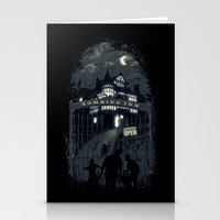 zombies Stationery Cards featuring Zombies Inn by nicebleed