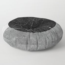 Marble Abstract Floor Pillow