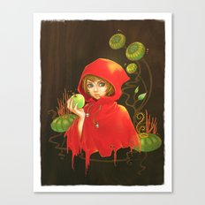 Poison Apple & A Little Red Hood Canvas Print