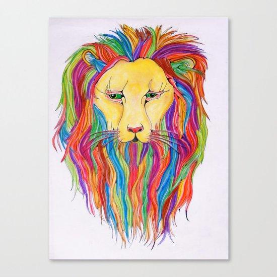 Dandy Lion Canvas Print
