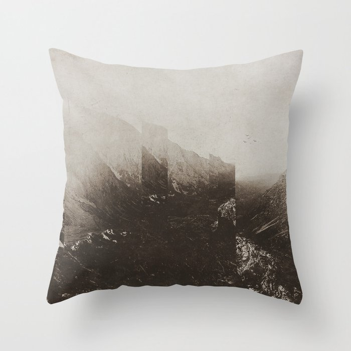 Fractions A60 Throw Pillow