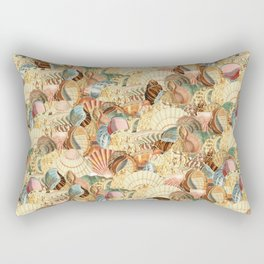 Sea shells pattern 2 Rectangular Pillow
