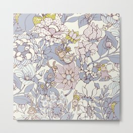 Garden party - jasmine tea version Metal Print