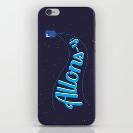 Allons-y! iPhone Skin