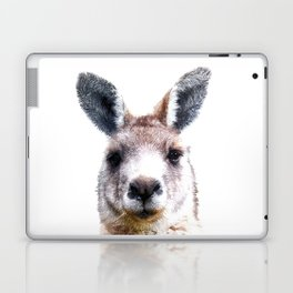 Kangaroo Portrait Laptop & iPad Skin
