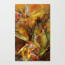 Losin the Paper Illusions Canvas Print