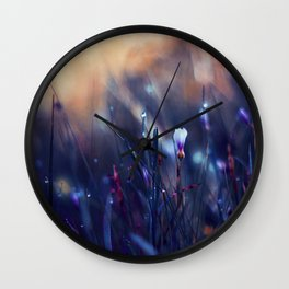 Lonely in Beauty Wall Clock