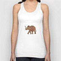 baby elephant Tank Tops featuring  Elephant baby by valzart