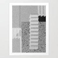 Stairs #3 Art Print