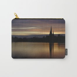 Lichfield Cathedral Sunset Reflection Carry-All Pouch