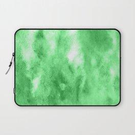 Green watercolor Laptop Sleeve