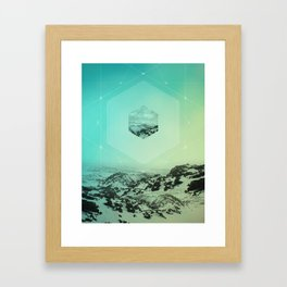 A Place Called Elsewhere Framed Art Print