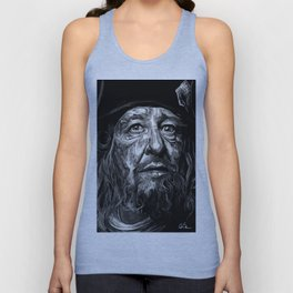 Captian Barbossa Unisex Tank Top