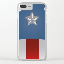 American CAP. Hero Civil Clear iPhone Case