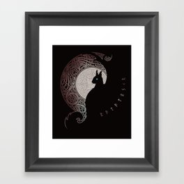 RATATOSKR Framed Art Print