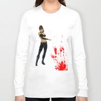 avenger Long Sleeve T-shirts featuring Avenger Mother by Alessandro Turetta