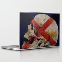 dragon age inquisition Laptop & iPad Skins featuring Inquisition by Michael Creese