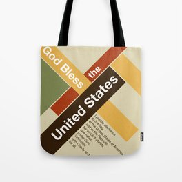 God Bless The United States Tote Bag