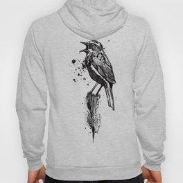 Birds/Prunella Modularis Hoody