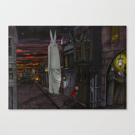 Schlepping Towards Bethlehem Canvas Print