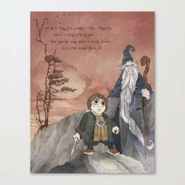 A Wide World Canvas Print