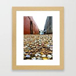 piece by piece. Framed Art Print
