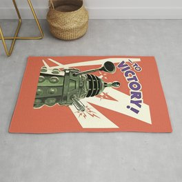 Daleks To Victory - Doctor Who Rug