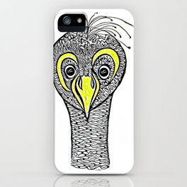 The Peacock called Meka iPhone Case