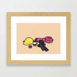 Yoshimi Battles the Pink Robots Framed Art Print