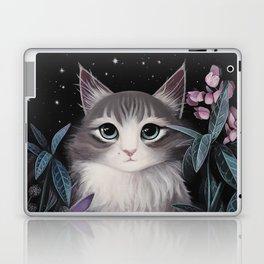 Minty the cat Laptop & iPad Skin