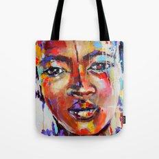 Closer - portrait of a beautiful woman Tote Bag