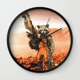 Rocket Raccoon Wall Clock