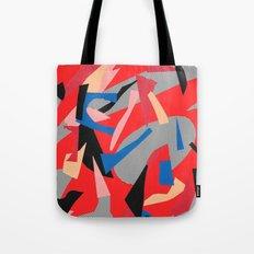 Redactive Tote Bag