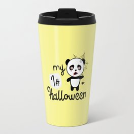 My First Halloween Panda T-Shirt D2fkq Travel Mug
