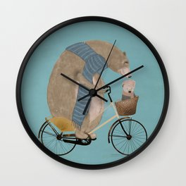 papa bear Wall Clock