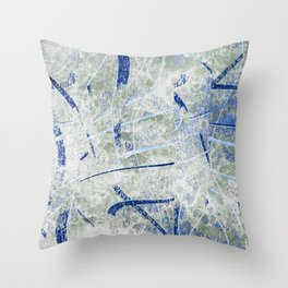 chilled out Throw Pillow